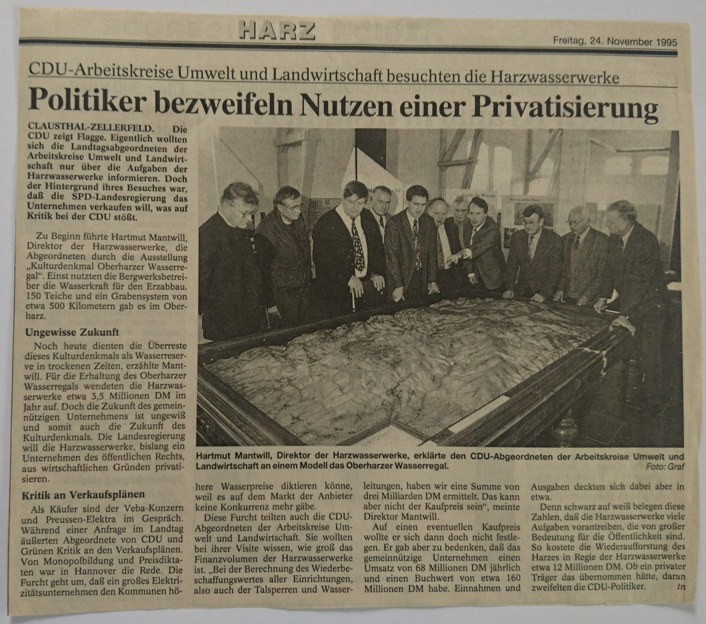 privatisierung 24111995
